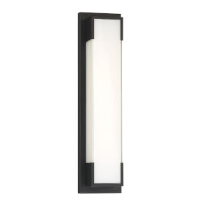 Thornhill Black 20-Inch LED Outdoor Wall Mount