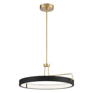 Pemberton Black LED Pendant