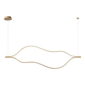 Devonshire Gold Two-Light LED Linear Pendant