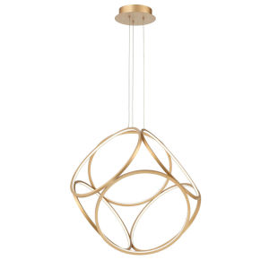 Glenview Gold Six-Light LED Pendant