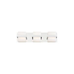 Raylan Chrome 21-Inch Three-Light LED Bath Vanity