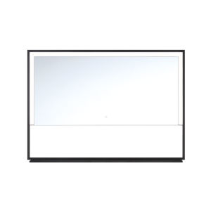 Clear 47-Inch Rectangular LED Wall Mirror