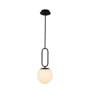 Prospect Matte Black One-Light Mini Pendant