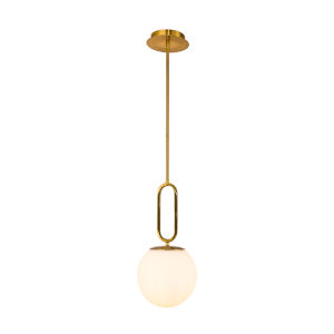 Prospect Satin Nickel One-Light Mini Pendant