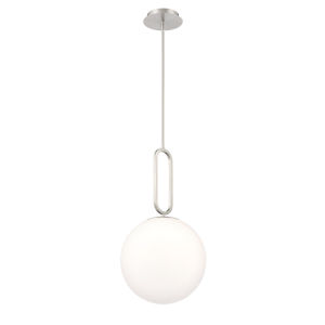 Prospect Satin Nickel 23-Inch One-Light Large Pendant