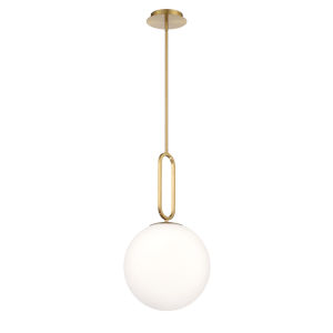 Prospect Gold One-Light Large Pendant