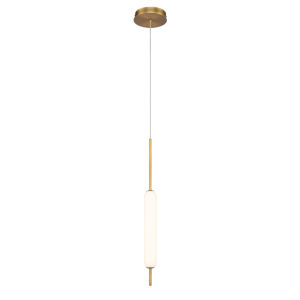 Cumberland Antique Brass LED Mini Pendant