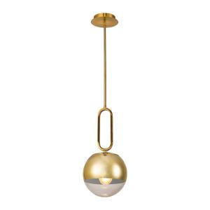 Prospect Gold One-Light Mini Pendant
