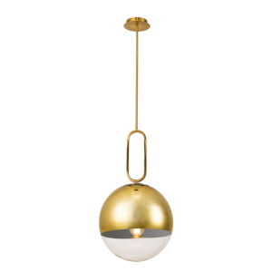 Prospect Gold 23-Inch One-Light Large Pendant
