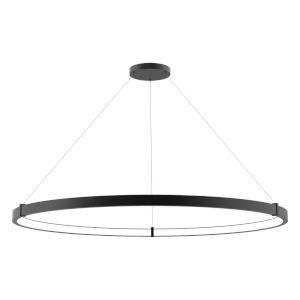 Mucci Matte Black and White LED Pendant