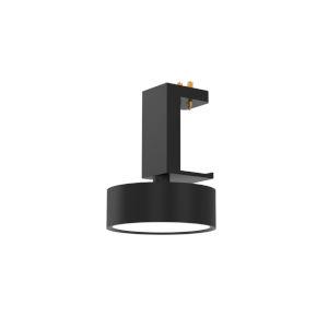 Mucci Matte Black and White LED Fixed Spotlight
