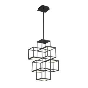 Ferro Black LED Pendant