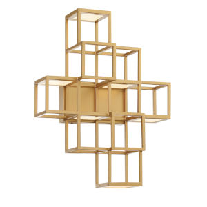 Ferro Gold LED Wall Sconce