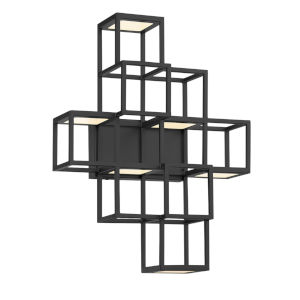 Ferro Black LED Wall Sconce