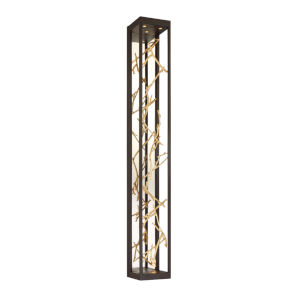 Aerie Bronze and Gold Six-Light LED Wall Sconce