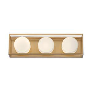 Rover Soft Gold 18-Inch Integrated LED Bath Vanity