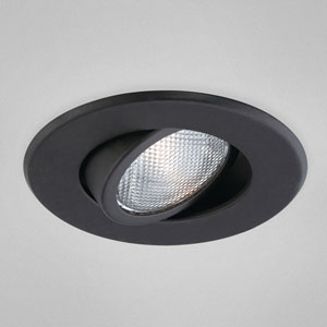 Black One-Light Recessed Light