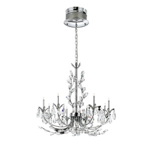 Giselle Chrome Eight-Light Chandelier