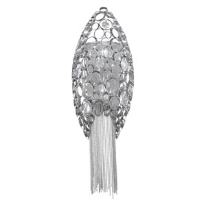 Cameo Nickel Two-Light Wall Sconce