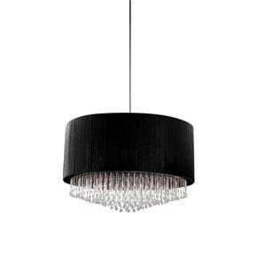 Penchant Black Six-Light 35-Inch Pendant