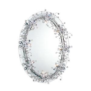 Relic Chrome Eight Light Round Mirror