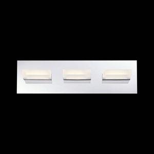Olson Chrome LED Bath Fixture