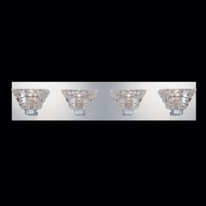 Zilli Chrome Four-Light Bath Fixture