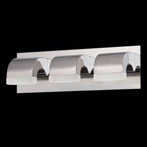 Newport Chrome LED Bath Fixture