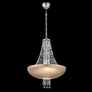 Lopez Gold Foil Eight-Light Pendant