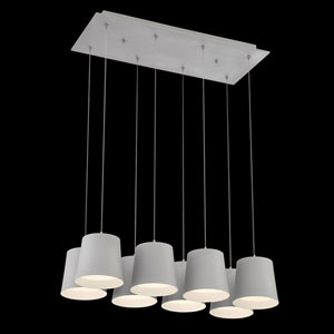Borto Grey LED Mini Pendant