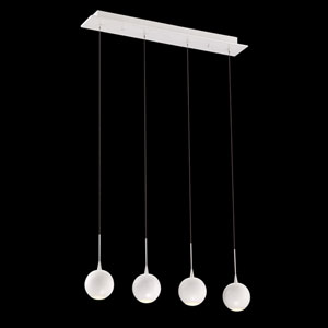 Patruno White 4-Inch LED Mini Pendant
