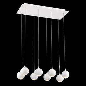 Patruno White 11-Inch LED Mini Pendant