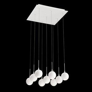 Patruno White 18-Inch LED Mini Pendant