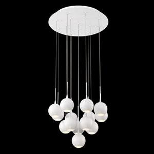 Patruno White 19-Inch LED Mini Pendant
