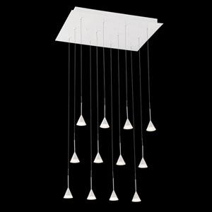 Albion White LED Mini Pendant