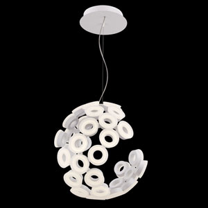 Glendale White LED Pendant