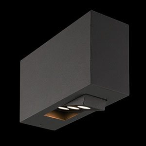 Oscar Dark Grey LED Outdoor Wall Sconce