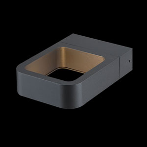 Staple Dark Grey LED Outdoor Wall Sconce