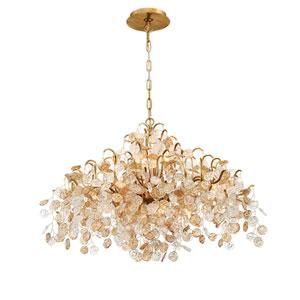 Campobasso Gold Eight-Light Chandelier