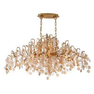 Campobasso Gold 10-Light Chandelier