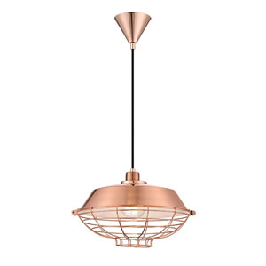 London Copper One-Light Pendant