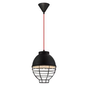 Brampton Black One-Light Pendant