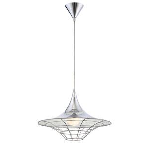 Windsor Chrome One-Light Pendant
