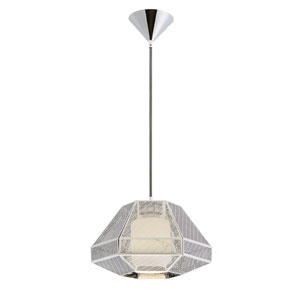 Recinto Chrome One-Light Pendant