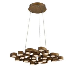 Pallazo Bronze LED 18-Light Chandelier