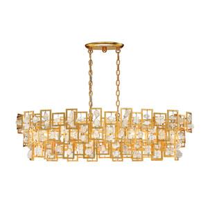 Elrose Gold Five-Light Pendant