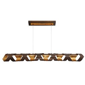 Banderia Bronze LED One-Light Pendant