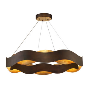 Vaughan Bronze 34-Inch LED Pendant