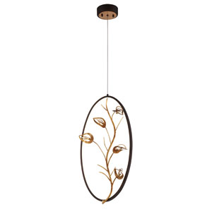 Peralta Gold LED Pendant