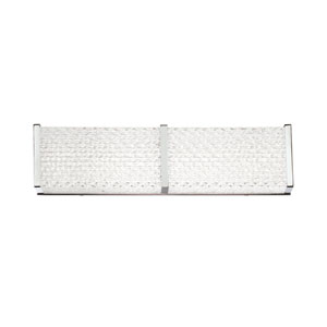 Wynn Chrome 18-Inch LED Wall Sconce